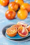 Sicilian blodapelsinfrukter Royaltyfri Bild