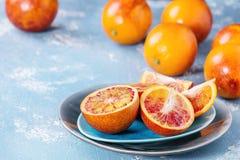 Sicilian blodapelsinfrukter Royaltyfri Fotografi
