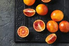 Sicilian blodapelsinfrukter Royaltyfria Bilder