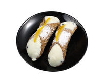 Sicilian Cannoli Stock Photography