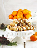 Sicilian cannoli Royalty Free Stock Images