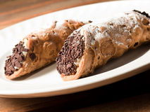 Sicilian cannolo Royalty Free Stock Image