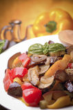 Sicilian caponata Royalty Free Stock Photo
