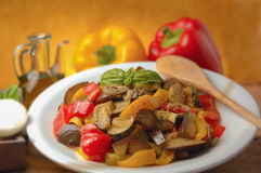 Sicilian caponata Stock Photography
