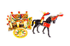 Sicilian cart Stock Image