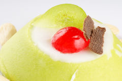 Sicilian cassata close-up Stock Photo