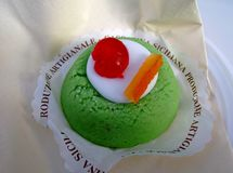 Sicilian cassata royalty free stock photo