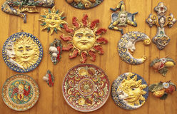 Sicilian ceramics Stock Photography
