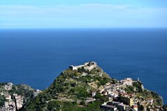 Sicilian Coast Royalty Free Stock Photos