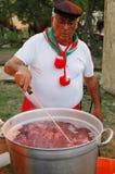 Sicilian cook Stock Photos