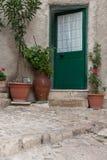 Sicilian courtyard; cortile siciliano Royalty Free Stock Photo