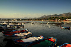 Sicilian Fishing Boats Royalty Free Stock Images