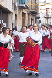 Sicilian folk group from Polizzi Generosa Stock Image