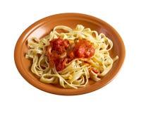 Sicilian homemade   pasta  Fettuccine Stock Photography