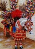 Sicilian horse on the island of Ortigia royalty free stock photos