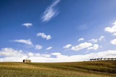 Sicilian Landscape. In a spring day Royalty Free Stock Photography