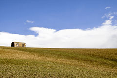 Sicilian Landscape. In a spring day Stock Images