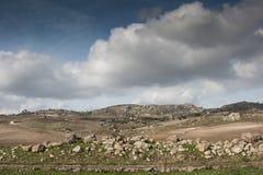 Sicilian Landscape Stock Image