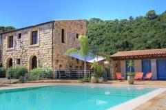 Sicilian luxury stone resort Stock Image