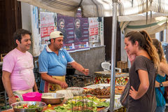 Sicilian market in Palermo Stock Photography