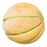 Sicilian muskmelon & x28;cantaloupe melon& x29; isolated Stock Photo
