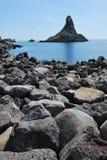 Sicilian natur Arkivbild
