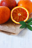 Sicilian orange. Royalty Free Stock Photography
