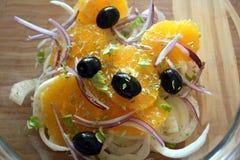 Sicilian orange salad. With fennel Stock Image