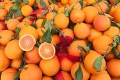 Oranges of Sicily Stock Photo
