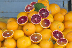 Sicilian oranges Royalty Free Stock Photo