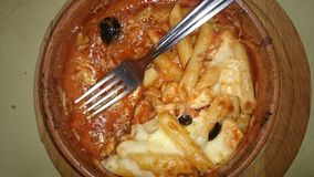 Sicilian penne al forno Royalty Free Stock Image