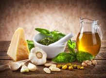 Sicilian pesto Stock Photography