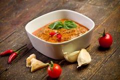Sicilian Pesto with chili Stock Images