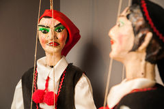 Sicilian puppet Stock Photography