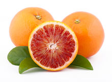 Sicilian red oranges Stock Photos