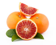 Sicilian red oranges Royalty Free Stock Photos