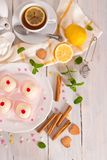 Sicilian ricotta cake Cassata. royalty free stock images