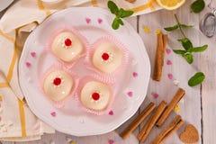 Sicilian ricotta cake Cassata. royalty free stock image