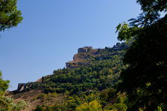 Sicilian rocky landscape, Italy Royalty Free Stock Photography