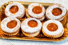 Sicilian sötsaker arkivbilder