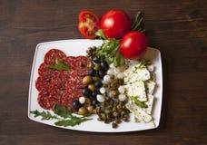Sicilian salami 1 Stock Photography