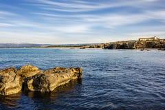 Sicilian sea Royalty Free Stock Image