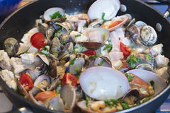 Sicilian seafood Royalty Free Stock Image