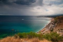 Sicilian seascape Stock Images