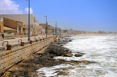 Sicilian shoreline Royalty Free Stock Images