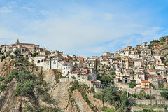 Sicilian small town Stock Photography