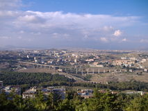 sicilian stad royaltyfri bild