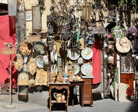 Sicilian street trading Stock Images