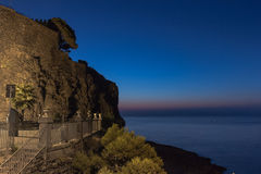 Sicilian sunrise Royalty Free Stock Photos
