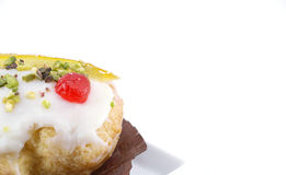 Sicilian sweet with ricotta cheese Royalty Free Stock Photography